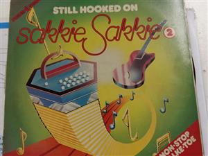 Still hooked on sakkie sakkie record