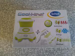 Scholl Cool Heat Massage Booster