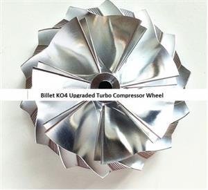 K04 UPGRADED Compressor Turbo Wheel – Audi TTS, S3 VW R - size 51.03/61.98mm 7+7 blades
