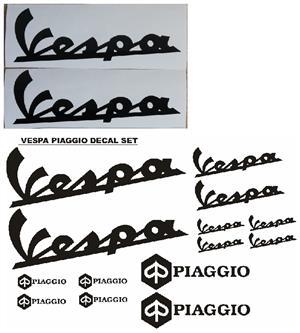 Vespa piaggio decals stickers vinyl cut graphics kits