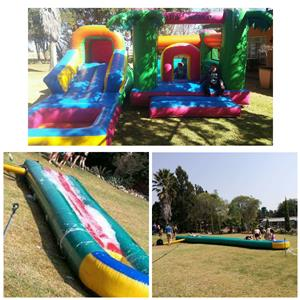 Jumping Castle and Waterslide