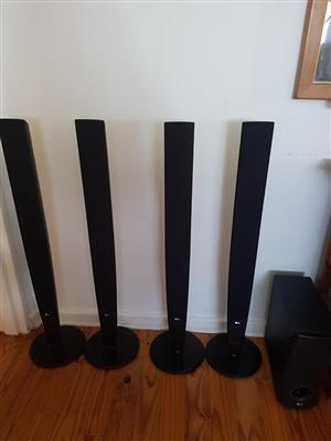 LG tall boy system with sub