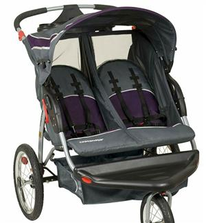 Twins jogging stroller for sale - NEW