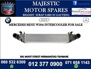 Mercedes benz w204 intercooler for sale