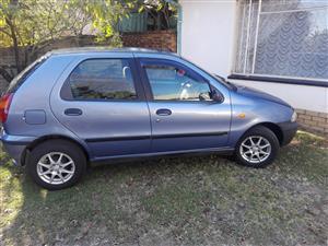 2001 Fiat Palio 1.2 EL 5 door