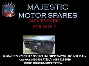 Audi B8 radio for sale !!