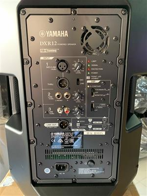 "New Yamaha DXR12 12"" 1100W 2-Way Active Loudspeaker"