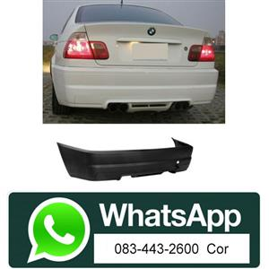 "BMW E46/4D ""98-04"" M3 LOOK REAR BUMPER SKIN"
