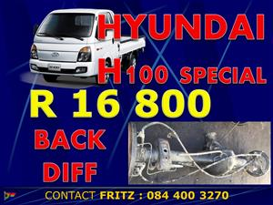 Hyundai H100 back dif, front dif and control arms