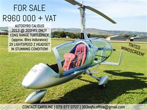Gorgeous Calidus Gyrocopter for Sale!