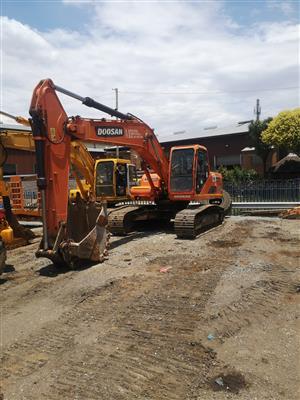 5 x Excavators for SALE