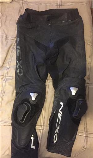 Nexo racing leather pants