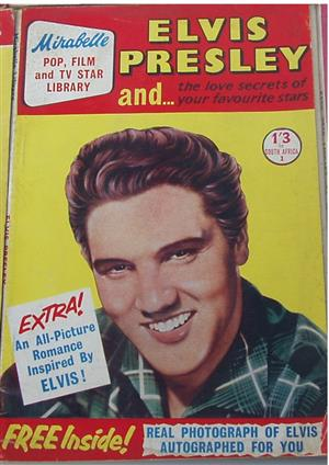 MIRABELLE ELVIS PRESLEY MAGAZINE 1959 - POP FILM TV STAR LIBRARY- in excellent condition