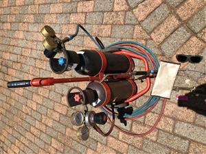 Harris gas welding/brazing Porta -Pack