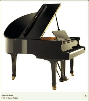 Grand Piano Fazioli F156 BRAND NEW