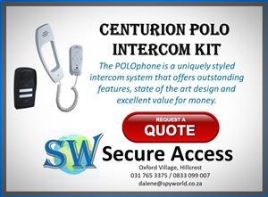 Access Control - Centurion Polo Gate Intercom