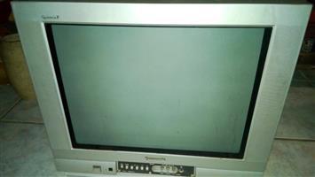 Panasonic box colour TV
