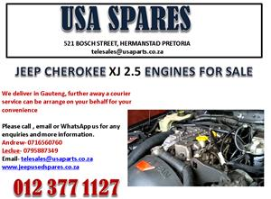 JEEP CHEROKEE XJ 2.5 ENGINES FOR SALE