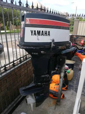 2 40 Yamaha outboard engines to swop