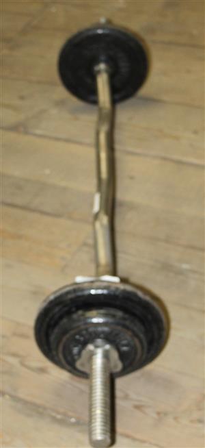 15kg sculpture weights with bars S031356A #Rosettenvillepawnshop