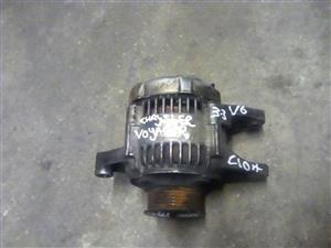 Chrysler Voyager 3.3 auto 1997 alternator for sale.