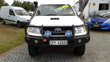 2005 Toyota Hilux 3.0D 4D double cab Raider