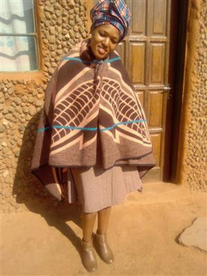 Lesotho maid/nanny with refs needs stay in work.