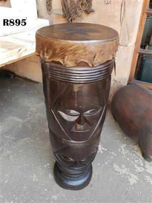 Big African Drum (H930mm D 300mm)