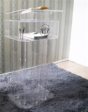 Clear High End Pulpit