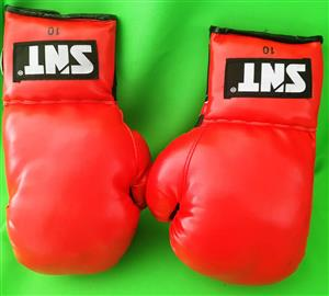 SNT red boxing gloves