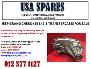 JEEP GRAND CHEROKEE ZJ 2.5 TRANSFER CASE FOR SALE