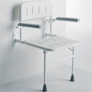 MR WHEELCHAIR WALL MOUNTED SHOWER SEAT: *-+