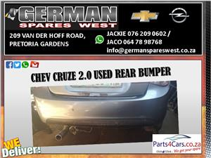 CHEV CRUZE 2.0D USED REAR BUMPER FOR SALE