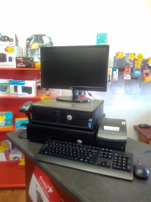 ON SALE!! COMPLETE REFURBISHED POINT OF SALE PC SET