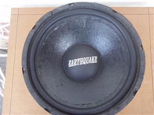 Earthquake Speaker Model EQ-12 - 4ohms - in boom box