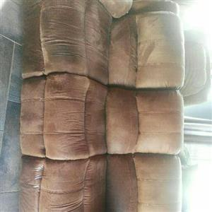 pure leather living room set
