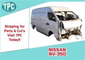 Nissan NV-350 for Sale at TPC