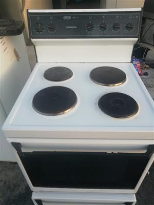 Defy stove for sale;