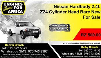 Nissan Hardbody 2.4L Z24 Cylinder Head Bare New For Sale.
