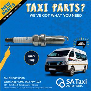 New SPARK PLUG suitable for Nissan NV350 Impendulo - SA Taxi Auto Parts quality spares