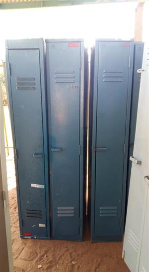 Dark blue lockers for sale