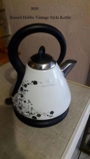 Russel Hobbs vintage style kettle