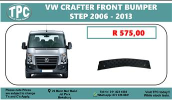 VW Crafter Front Bumper Step 2006 - 2013 - For Sale at TPC.