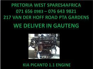 Kia picanto engine for sale