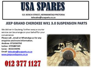 JEEP GRAND CHEROKEE WK1 3.0 SUSPENSION PARTS FOR SALE.