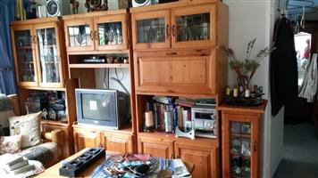 Wall / TV Unit and CD cabinet