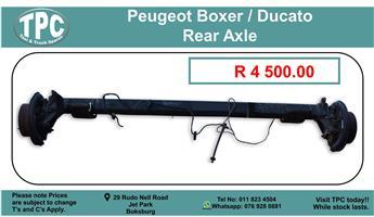 Peugeot Boxer / Ducato Rear Axle For Sale.