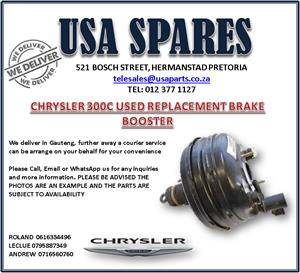 CHRYSLER 300C USED REPLACEMENT BRAKE BOOSTERS
