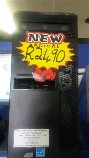 Lenovo ThinkCenter M Series Desktop Core i5 2nd Gen on sale @R2490