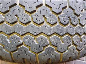 Dunlop 4x4 used tyres still good with 5mm tread  245/70 R 16 for bakkie or 4x4